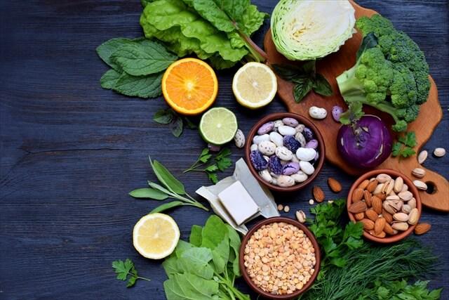 葉酸を含む食物
